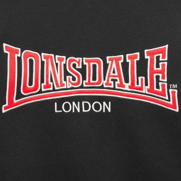 Lonsdale London crewneck sweater logo application stereetwear clothing gabberwear 100% Hardcore webshop