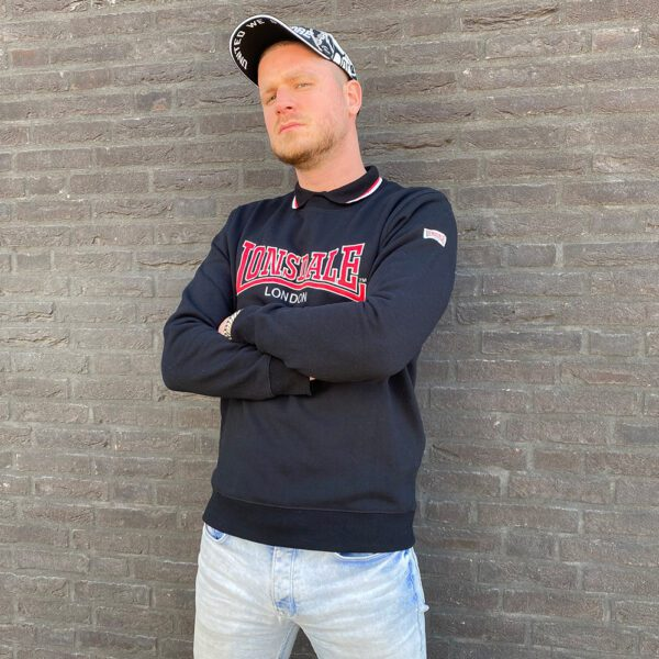 Lonsdale London black sweater berger clothing collection 100procenthardcore.com