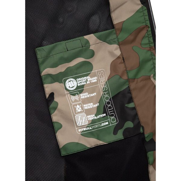 Pit Bull West Coast windbreaker outdoor jacket camou army streetwear 100% Hardcore webshop