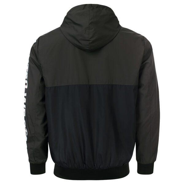 100% Hardcore windbreaker jacket united we stand gabber clothing hardwear brand