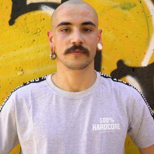 100% Hardcore gabber from Spain for official webshop shoot gabberwear