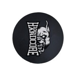 100% Hardcore technics slipmat pit bull head gabber