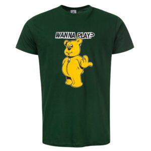 Forze Wanna Play groen DJ Paul Elstak shirt 100 hardcore merchandise