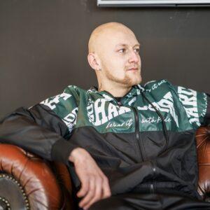 100% Hardcore gabber windbreaker jacket gabber style gabberwear merchandise