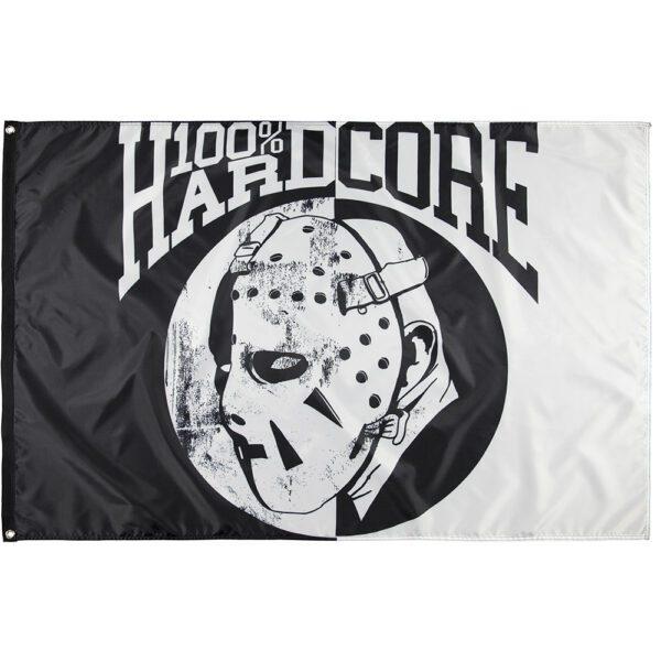 100 hardcore merchandise gabber hardcore vlag