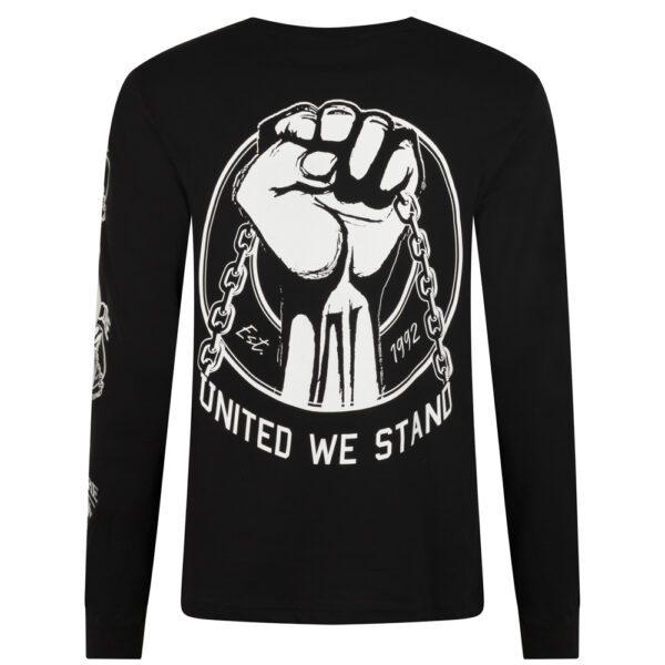 100 hardcore longsleeve hardcore merchandise gabberwear gabber outfit