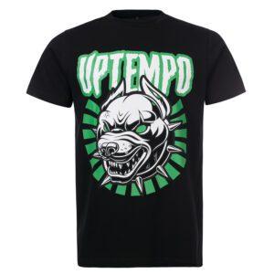 Uptempo T-shirt hardcore website Uptempo merchandise 100 hardcore T-shirt groen