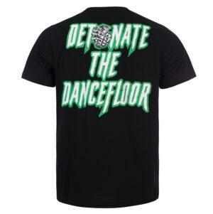 100 hardcore T-shirt Groen hardcore kleding