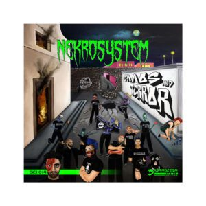 Nekrosystem CD Terror muziek hardcore website