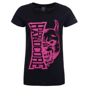 100 hardcore dames shirt hardcore merchandise hardcore logo roze gabber outfit