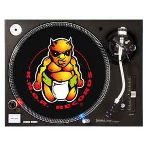 K.N.O.R. records slipmat platenspeler oldschool